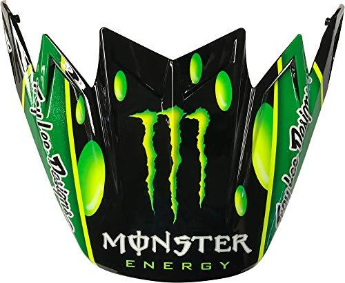 Bell Moto-9 Flex Visor, MC Monster Green/Black