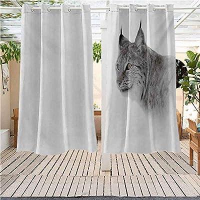 Cortinas de Interior y Exterior Impermeables para decoración de ...