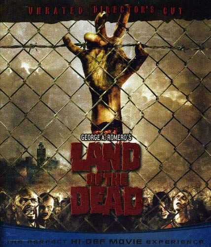 Land of the Dead (Unrated Director's Cut) [Blu-ray] (George A Romero On The Walking Dead)
