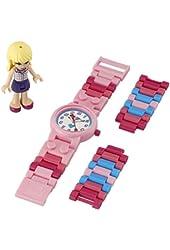 Lego Kids' 9001024 LEGO Friends Stephanie Kids' Watch With Minidoll