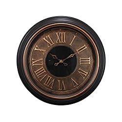 kieragrace Traditional wall-clocks, Copper & Gold
