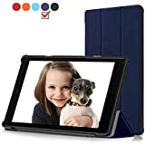 HD 10 Case Protector All Fire HD 10 Tablet(7th Generation,2017 Release) - Ultra Lightweight Protective Slim Stand Smart Cover Auto Sleep/Wake Kindle Fire HD 10.1 Inch Tablet Navy Blue