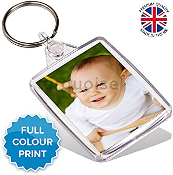 Personalised Photo Gift Metal Bottle Opener Keyring 45 x 35 mmPassport Size