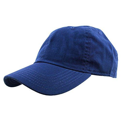 Falari Baseball Cap Hat 100% Cotton Adjustable Size Royal 1813