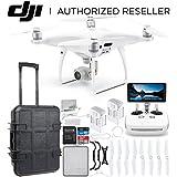 DJI Phantom 4 PRO+ PLUS V2.0/Version 2.0 Quadcopter Waterproof Rolling Case Essential Bundle