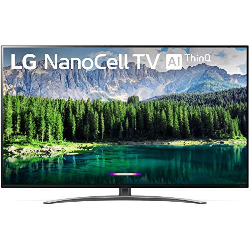 LG 65SM8600PUA Nano 8 Series 65″ 4K Ultra HD Smart LED NanoCell TV (2019), Black