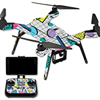MightySkins Protective Vinyl Skin Decal for 3DR Solo Drone Quadcopter wrap cover sticker skins Awesome 80s
