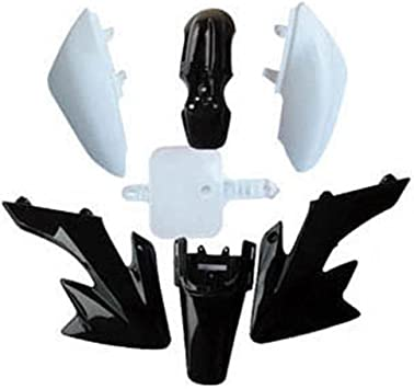 SMT Black Plastic Fender Body Work Fairing BOLT Compatible With Honda CRF XR50 CRF50 125CC Pit Dirt Bike