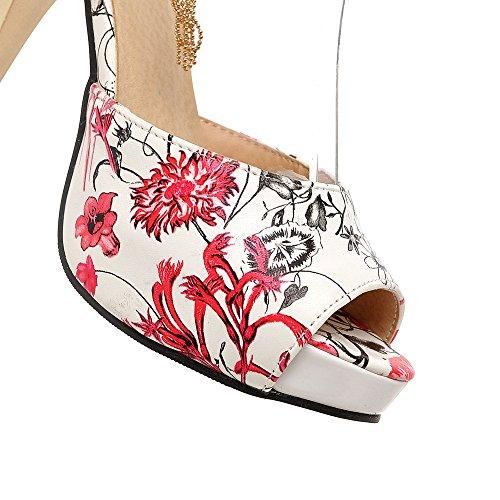 Fashion Heel - Zapatos de tacón  mujer Red