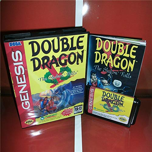 683e3c4861c Value-Smart-Toys - Double Dragon 5 The Shadow Falls US Cover with box and  manual For Sega Megadrive Genesis Video Game Console 16 bit MD card