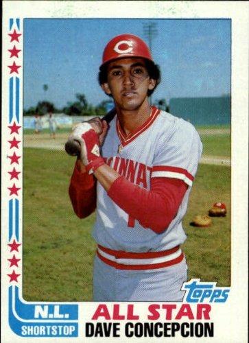 - 1982 Topps Baseball Card #340 Dave Concepcion