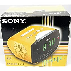 Sony ICF-C111 - Clock radio - gold