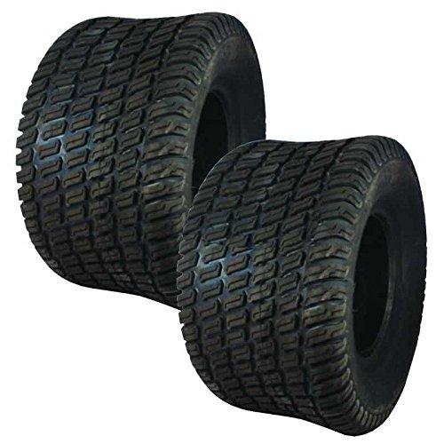 Set Of 2 Carlisle OEM Turf Master 4 Ply Tire 24x12.00X12 511409 Fits Many Models by Carlisle