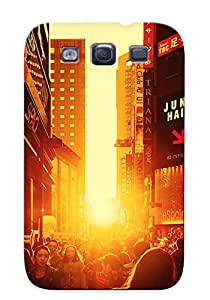 Catenaryoi Durable Defender Case For Galaxy S3 Tpu Cover(sunset In Seoul) Best Gift Choice