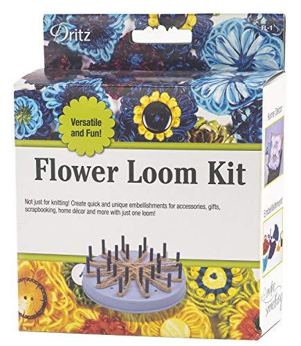 Daisy Knit Hat - Dritz FL-1 Flower Loom Kit