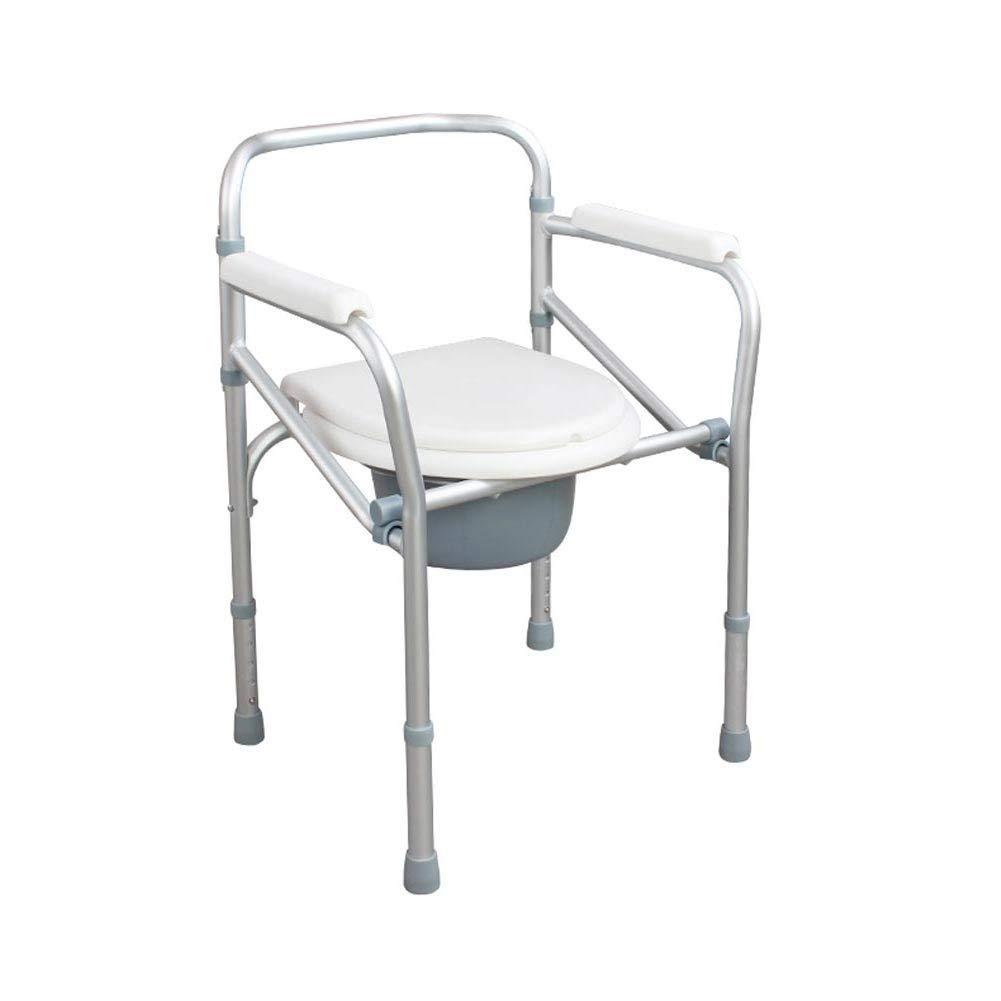 Foldable Shower Stool,Seniors/Pregnant Woman Non-Slip Commode Chair,Bathroom Aid Bath Chair