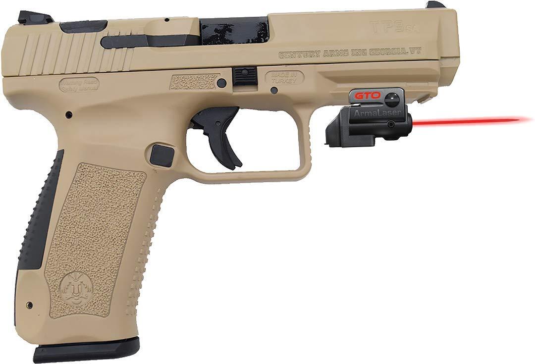 Amazon com : ArmaLaser Century Canik TP9 SA GTO Red Laser Sight and