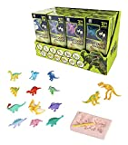(US) Liberty Imports 12 Pack Dinosaurs Assortment Skeleton 3D Dino Fossil Excavation Science Kits for Party Favors (Set of 12)