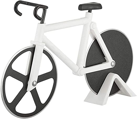 Rueda cortadora de pizza para bicicleta, cortador de pizza de ...
