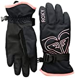 Roxy Little Poppy Girl Snow Gloves, true black L