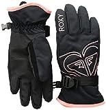 Roxy Little Poppy Girl Snow Gloves, true black L