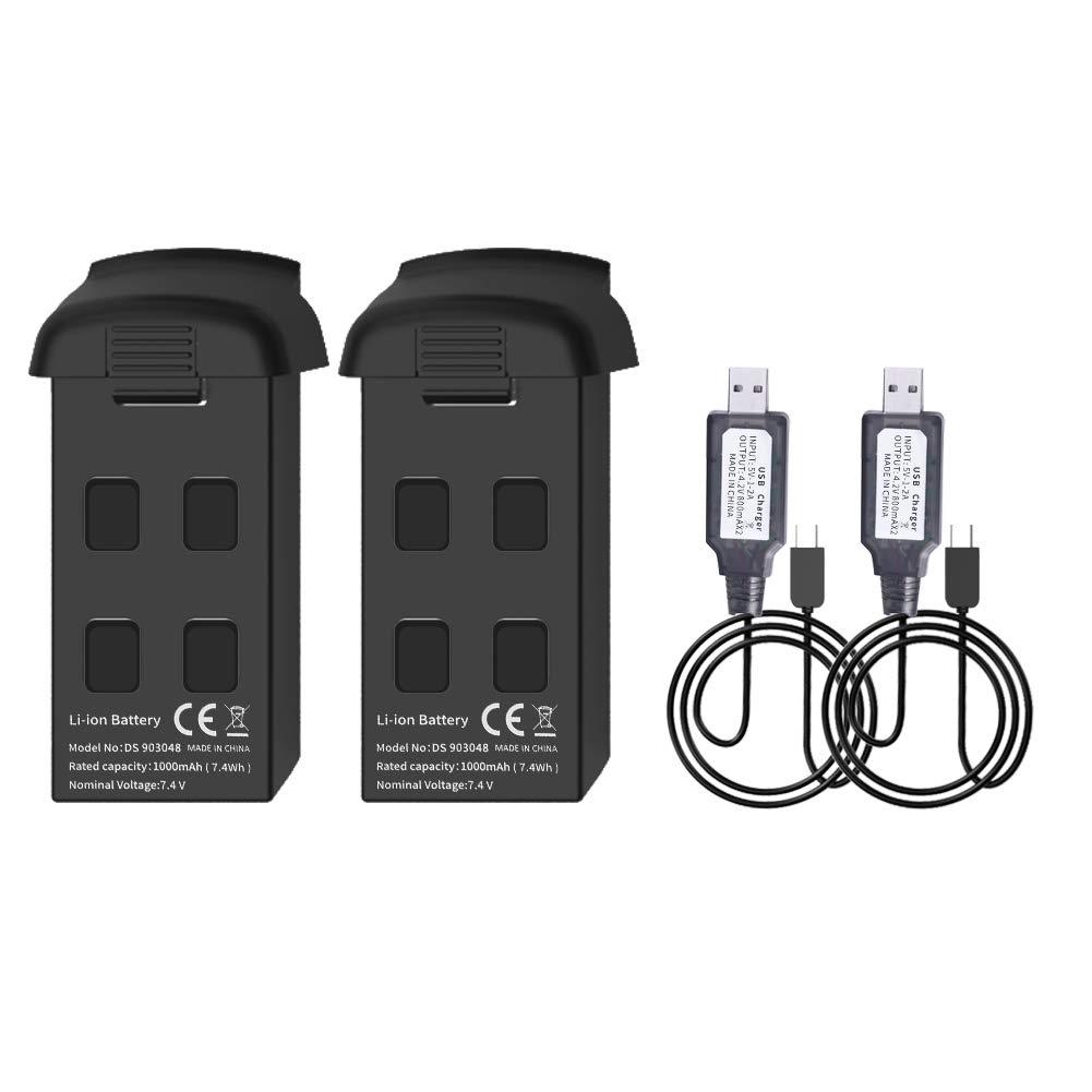 2 Baterias y Cargador  SNAPTAIN SP500 GPS Foldable FPV WiFi