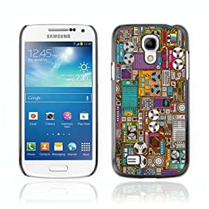 Designer Depo Hard Protection Case for Samsung Galaxy S4 Mini / Oldschool Cassette Tapes