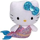TY 7142089 - Hello Kitty Baby - Meerjungfrau, Beanie Babies, 15 cm