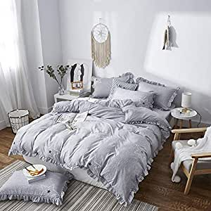 Amazon.com : Four Sets of Bed Dyed Cotton Printing Four