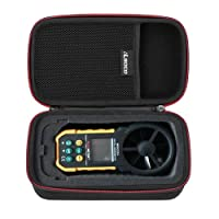RLSOCO Digital Anemometer Case Carrying case for Proster Digital Anemometer MS6252A/Protmex MS6252B/MS6252A/HOLDPEAK 866B Digital Anemometer