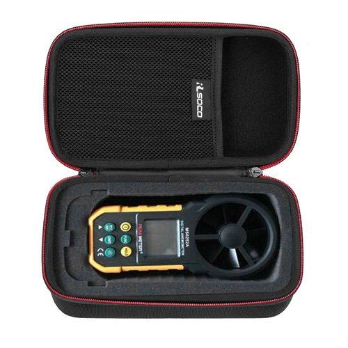 RLSOCO Bolsa Funda para Protmex MS6252B / Protmex MS6252A Digital anemómetro / Proster Anemómetro Digital MS6252A
