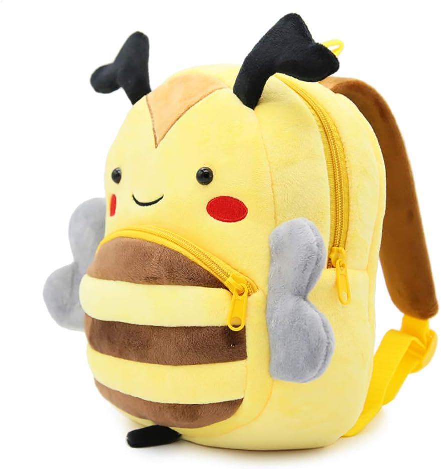 Plush backpacks Toddler Kids  3D Cartoon Animal Backpack  cute school bag