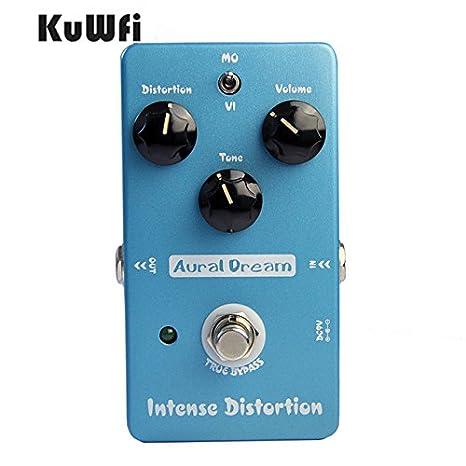 KuWFi Pedal de Efectos , Aural Dream Intense Distortion Pedal de efectos de guitarra eléctrica Copie IBZ Sd-9 True Bypass: Amazon.es: Instrumentos musicales