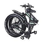 51y WGgdTtL. SS150 ONLYU Elettrico Mountain Bike, 1000W Beach Bici Elettrica 26 * 4.0 Fat Tire Pieghevole Bici Elettrica 48V 21-velocità di…