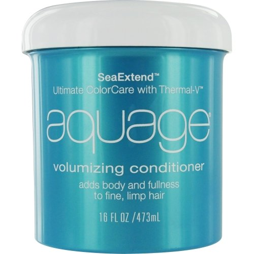 Volumizing Seaextend Conditioner Aquage - Aquage Seaextend Ultimate Colorcare with Thermal-V Volumizing Conditioner, 16 Ounce