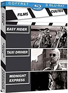 films cultes coffret easy rider taxi driver midnight express blu ray. Black Bedroom Furniture Sets. Home Design Ideas