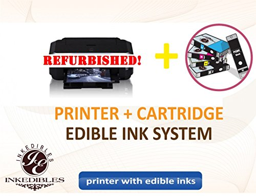 YummyInks Brand YummyInks Brand Epson NX430 Bundled Printing System - REFURBISHED - includes wireless all-in-one printer and complete set of edible ink cartridges
