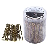 300 Pack of Bun Hair Pins U Shaped Pins with Box, Golden Hair Pins