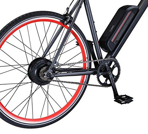 schwinn monroe 250 watt hub drive fixie electric bicycle. Black Bedroom Furniture Sets. Home Design Ideas