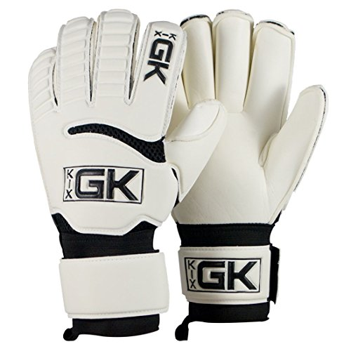 KixGK Club Goalkeeper Gloves (Sizes 5-12): All Purpose Match Training Adult & Youth Unisex Soccer Goalie Gloves – GK Gloves Designed for Efficiency, Consolation, & Safety – DiZiSports Store