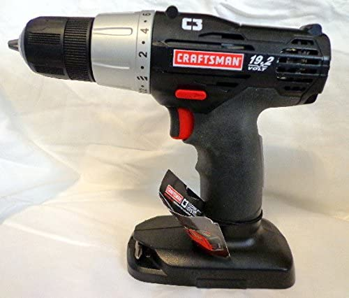 Craftsman C3 19.2 Volt 3 8 Inch Drill Driver Bare Tool, No Battery or Charger Included