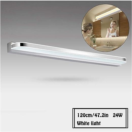 L/ámpara de ba/ño LED L/ámpara de Espejo Aplique de Ba/ño LED 50CM 16W 6000K Luz Blanca para Espejo Muebles de Maquillaje Aparato Montado en la Pared