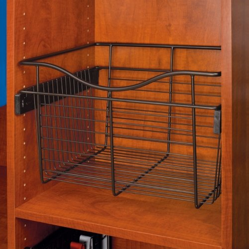 Rev-A-Shelf - CB-181607ORB-1 - Oil Rubbed Bronze Closet Pull-Out Basket