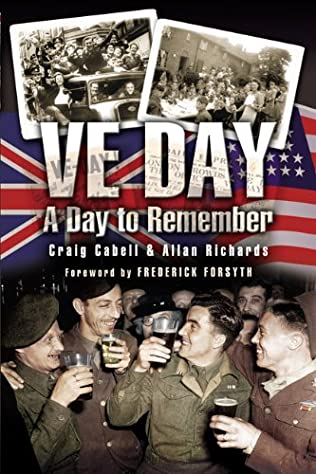 book cover of VE Day