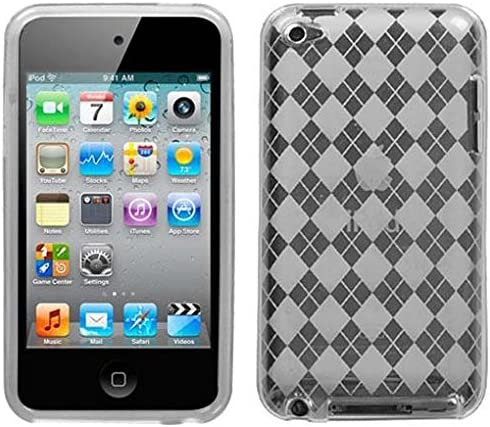 For iPod Touch 5th 6th Gen TPU CANDY Diamond Gel Flexi Skin Case Accessory