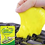 HULKY Magic Plasticine, Universal Cleaning Glue Keyboard Dust Keyboard Glue No Dead Ends New Exotic Toy Shapi Gum Kids Novelty Toys Sand Gelatin Yellow