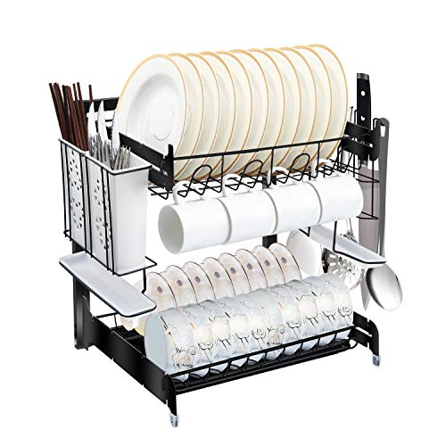 Reasonably flexible dishrack system