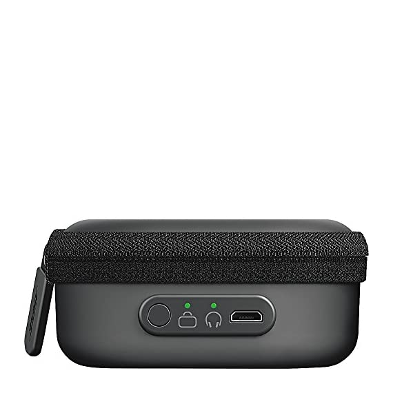 Bose SoundSport charging case 5 Micro USB for charging sound sport wireless or sound sport Pulse wireless headphones on the go.Wired Charging. Built-in rechargeable battery extends listening time up to 18 hours Compact, durable case protects your headphones as they charge