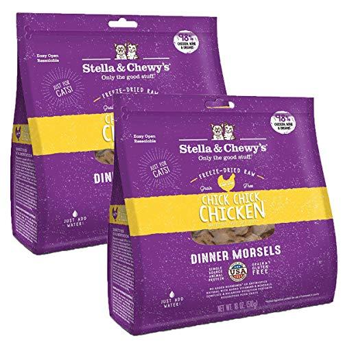 Stella & Chewys Freeze-Dried Dinner Morsels Grain-Free Cat Food