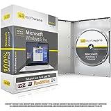 Microsoft® Windows 8.1 Professional (PRO). Original-Lizenz. 32 bit & 64 bit. Deutsch+ML. Audit Sicher, S2-ISO DVD, Lizenz. CLP Zertifikat